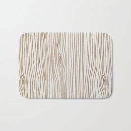 Wood Grain - Brown Bath Mat