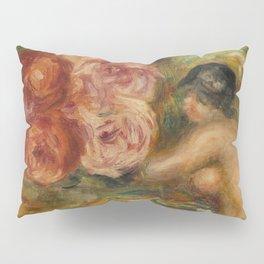 """Auguste Renoir """"Roses et Étude de Gabrielle"""" Pillow Sham"""