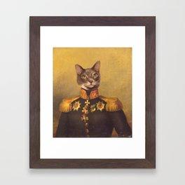 General Bity Bits Portrait Framed Art Print