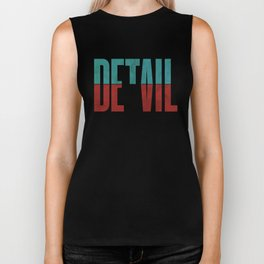 Devil in the detail. Biker Tank