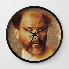 Gustav Klimt, Artist Wall Clock
