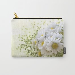 Bouquet of daisies in LOVE - Flower Flowers Daisy Carry-All Pouch