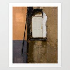 Door, Washington DC Art Print