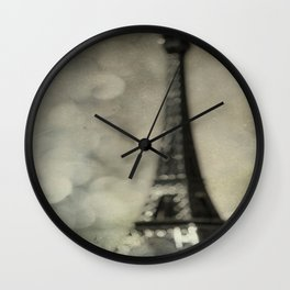 To Paris, With Love Wall Clock