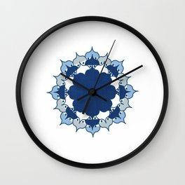 Lotus Mandala 1.0 Wall Clock