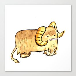 Bantha in Adorable Canvas Print