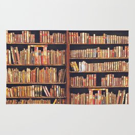 Read to live, live to read. Rug