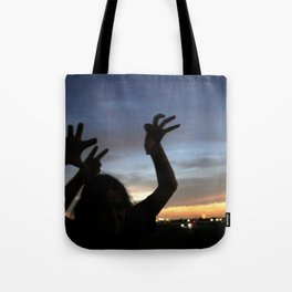 monster shadow twighlight Tote Bag
