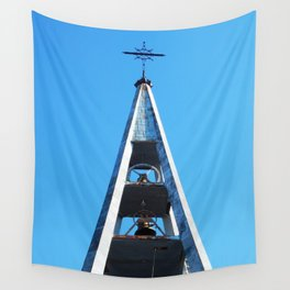 Bell tower church Belfry  Wall Tapestry