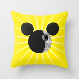 The New Death Star Throw Pillow