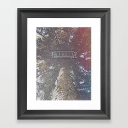 Wander Framed Art Print