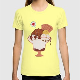 Caramel Softscoop Parfait T-shirt