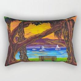 Maui Banyan Bliss Rectangular Pillow