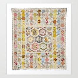 Anna Brereton Quilt Art Print