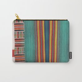 Pin Striped Carry-All Pouch