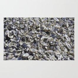 Shucked Oyster Shells Rug