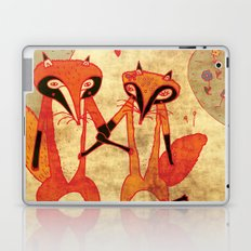 Foxes in love Laptop & iPad Skin