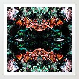 Dark Abstract art Art Print