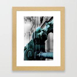 Labyrinth Scorn Framed Art Print