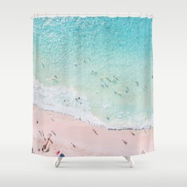 Beach Sunday Shower Curtain