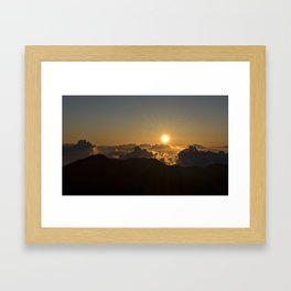 Sunrise in Maui Framed Art Print