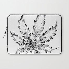 Black & White (Cannabis Resin Leaf) Laptop Sleeve