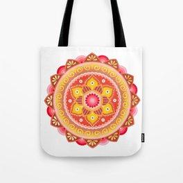 Cinnamon Flower Tote Bag