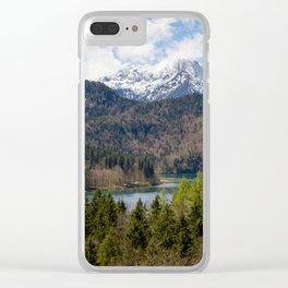 Bavaria Clear iPhone Case