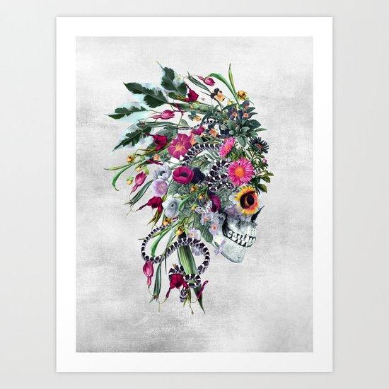 Momento Mori Chief Art Print