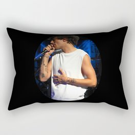 Tummy Tomlinson Rectangular Pillow