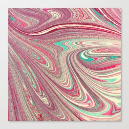 Marble Paper Canvas Print