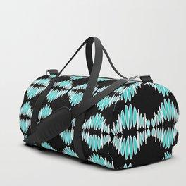 Sonic Bloom - Blue Duffle Bag