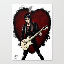 Joan Jett & the Black Hearts Canvas Print