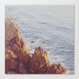 Jagged View Canvas Print