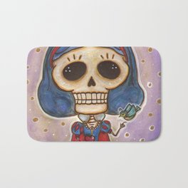 Blanca Nieves Day of the Dead Bath Mat
