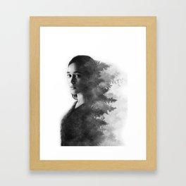 Alycia Debnam-Carey Framed Art Print