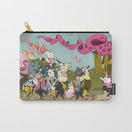 Cute animals parade, inspired by Orwell's Animal Farm but sweet Carry-All Pouch