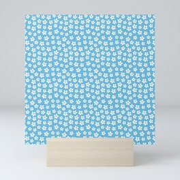 Blue Daisies Mini Art Print