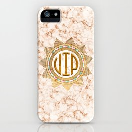 VIP - Gold multicolor iPhone Case