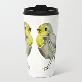 Little Yellow Birds Travel Mug