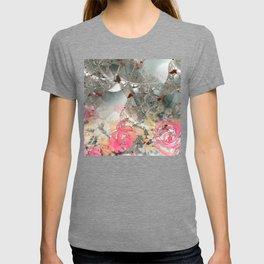 Misty rose garden T-shirt