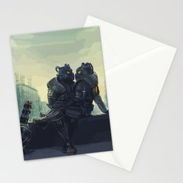 fallout love Stationery Cards
