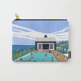 Black house Carry-All Pouch