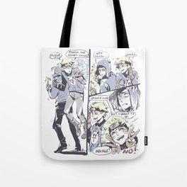 creek_comic_sketchy_ messy Tote Bag