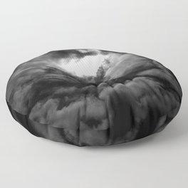 Eye of the Storm Floor Pillow