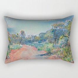 Australia Outback Bush road Rectangular Pillow
