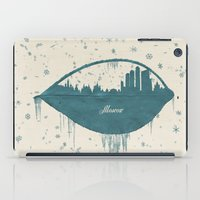 moscow iPad Cases featuring Frozen Moscow by Paula Belle Flores