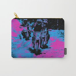 """Born to Race"" Motocross Dirt-Bike Racers Carry-All Pouch"
