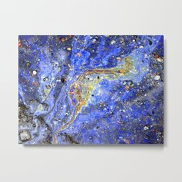 Starry waters Metal Print