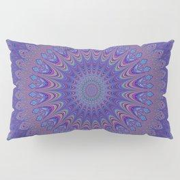 Purple mandala Pillow Sham